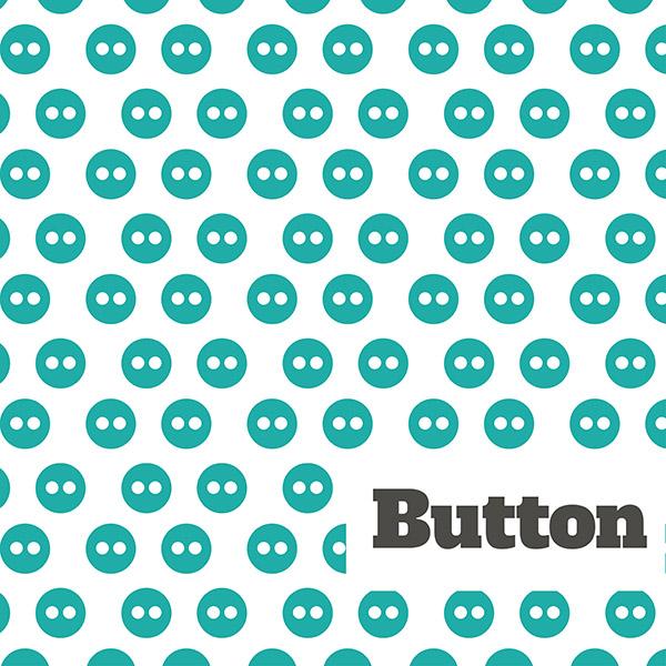 Tote button aqua 3