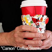 Carson coffee sleeve