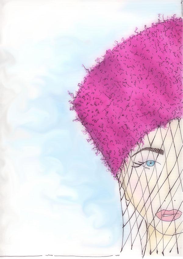 Girl in hat for blog